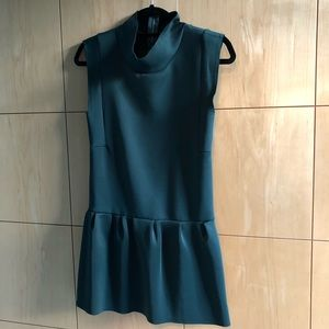 Emerald Color Zara Dress/ Worn Once